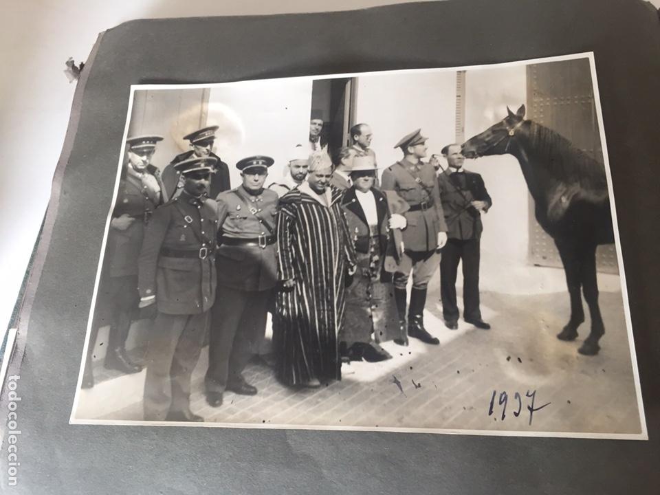 Fotografía antigua: Álbum fotografías militar rey Marruecos - Foto 114 - 221511113
