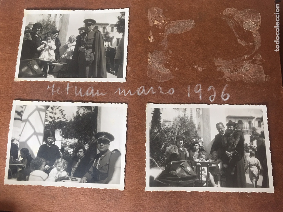 Fotografía antigua: Antiguo álbum fotográfico Marruecos , militar y familiar - Foto 37 - 221511602