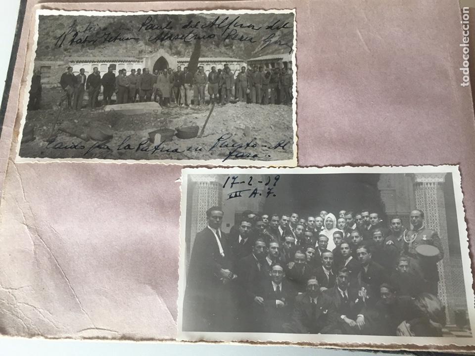 Fotografía antigua: Álbum fotográfico antiguo militar Rey de Marruecos ver fotos - Foto 3 - 221511950