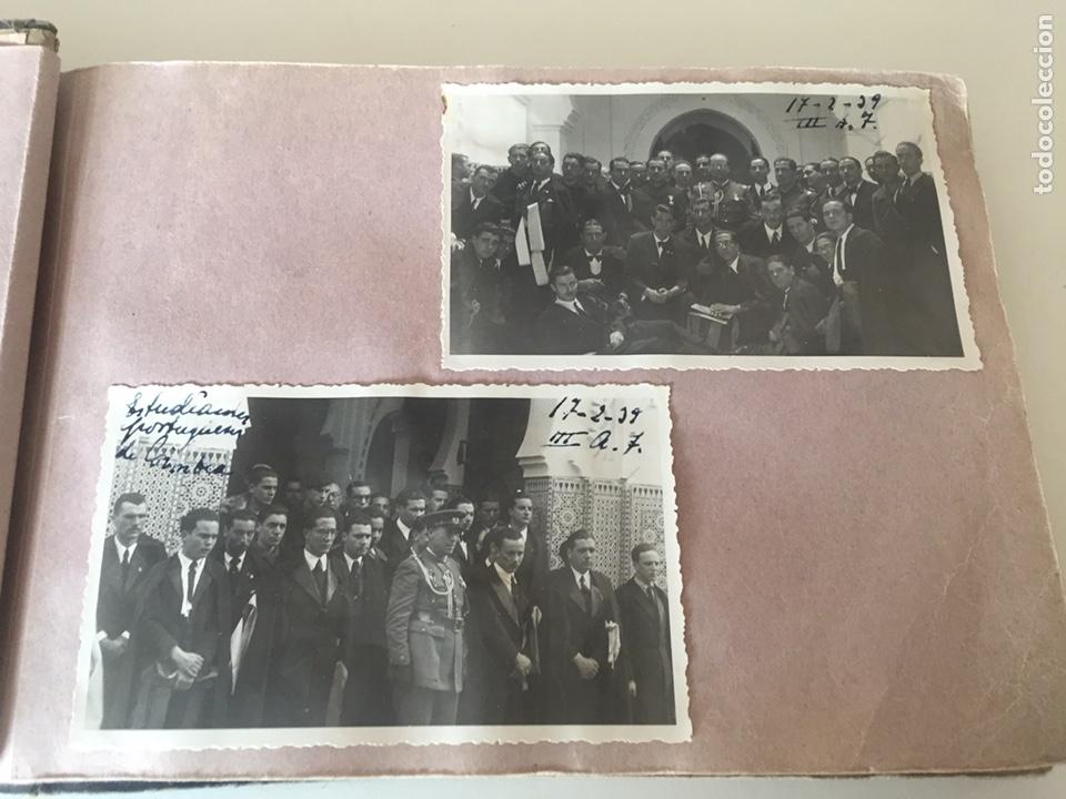 Fotografía antigua: Álbum fotográfico antiguo militar Rey de Marruecos ver fotos - Foto 4 - 221511950