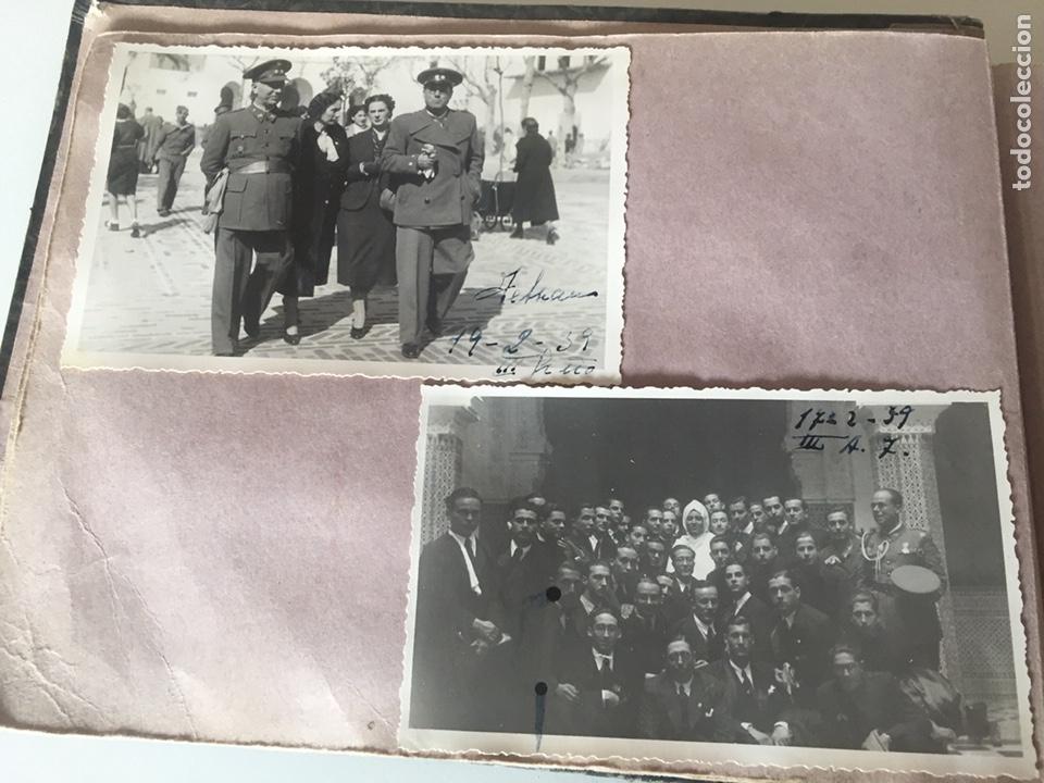 Fotografía antigua: Álbum fotográfico antiguo militar Rey de Marruecos ver fotos - Foto 5 - 221511950
