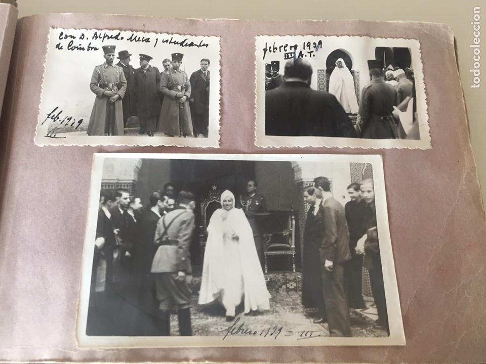 Fotografía antigua: Álbum fotográfico antiguo militar Rey de Marruecos ver fotos - Foto 6 - 221511950