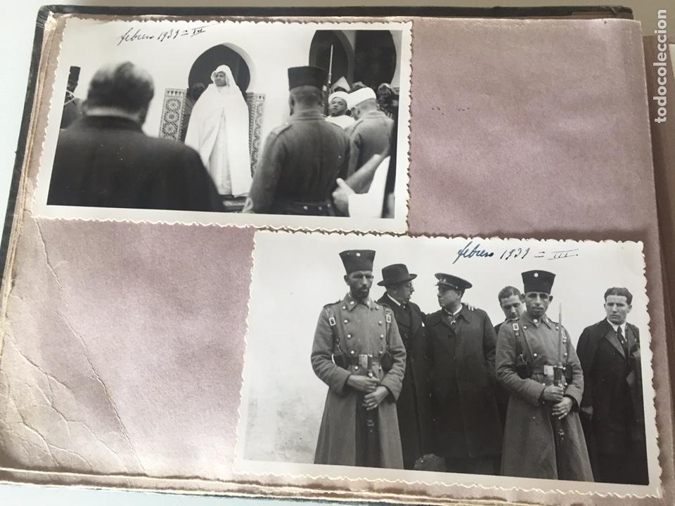 Fotografía antigua: Álbum fotográfico antiguo militar Rey de Marruecos ver fotos - Foto 7 - 221511950