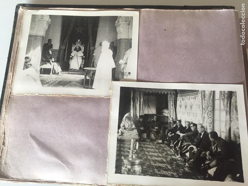 Fotografía antigua: Álbum fotográfico antiguo militar Rey de Marruecos ver fotos - Foto 9 - 221511950