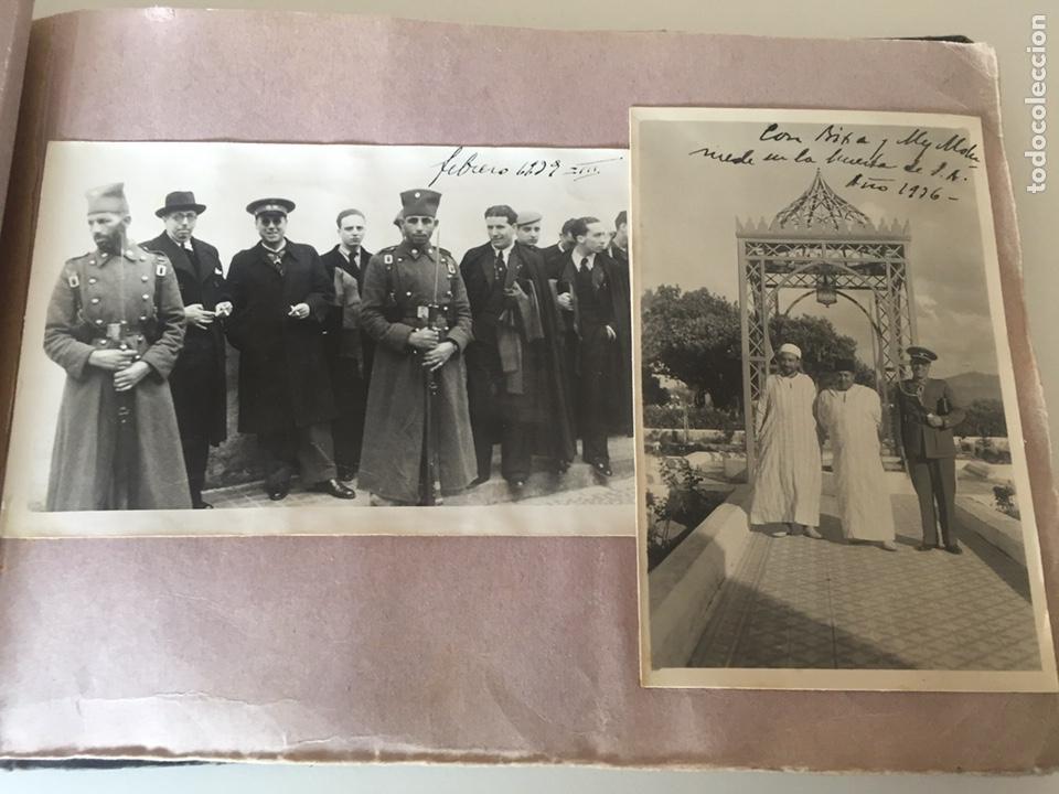 Fotografía antigua: Álbum fotográfico antiguo militar Rey de Marruecos ver fotos - Foto 10 - 221511950