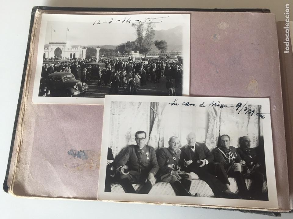 Fotografía antigua: Álbum fotográfico antiguo militar Rey de Marruecos ver fotos - Foto 12 - 221511950