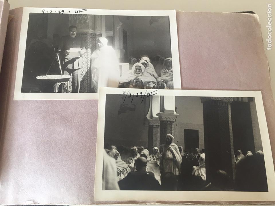Fotografía antigua: Álbum fotográfico antiguo militar Rey de Marruecos ver fotos - Foto 13 - 221511950