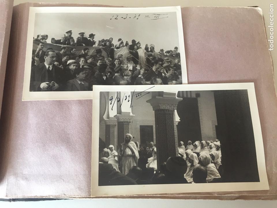 Fotografía antigua: Álbum fotográfico antiguo militar Rey de Marruecos ver fotos - Foto 16 - 221511950