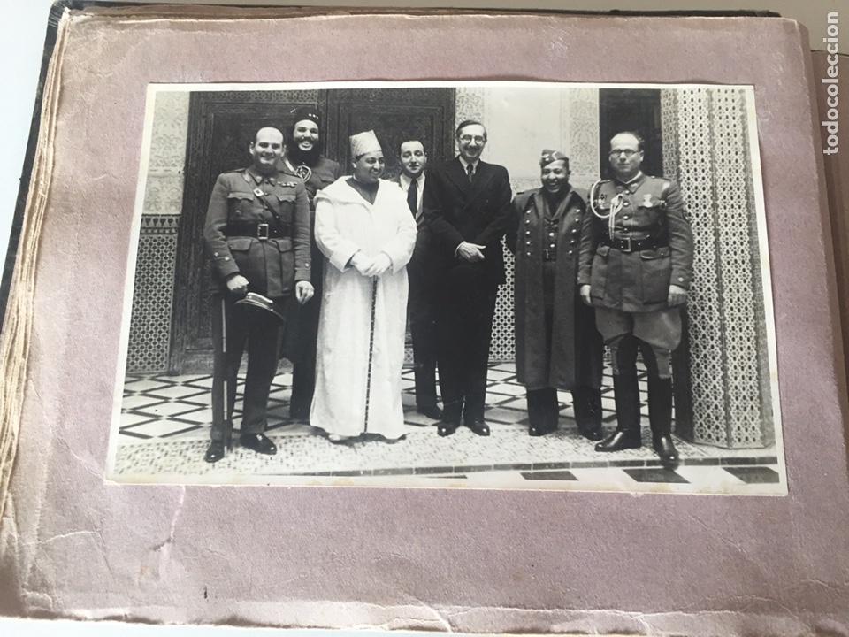Fotografía antigua: Álbum fotográfico antiguo militar Rey de Marruecos ver fotos - Foto 21 - 221511950