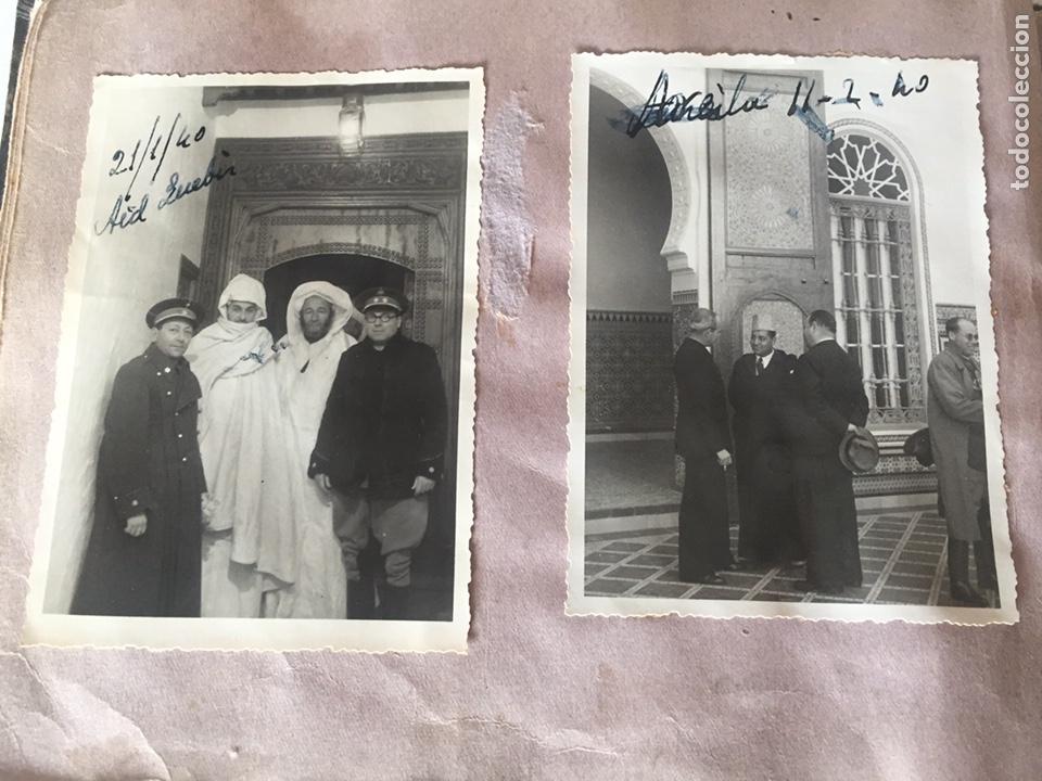 Fotografía antigua: Álbum fotográfico antiguo militar Rey de Marruecos ver fotos - Foto 29 - 221511950