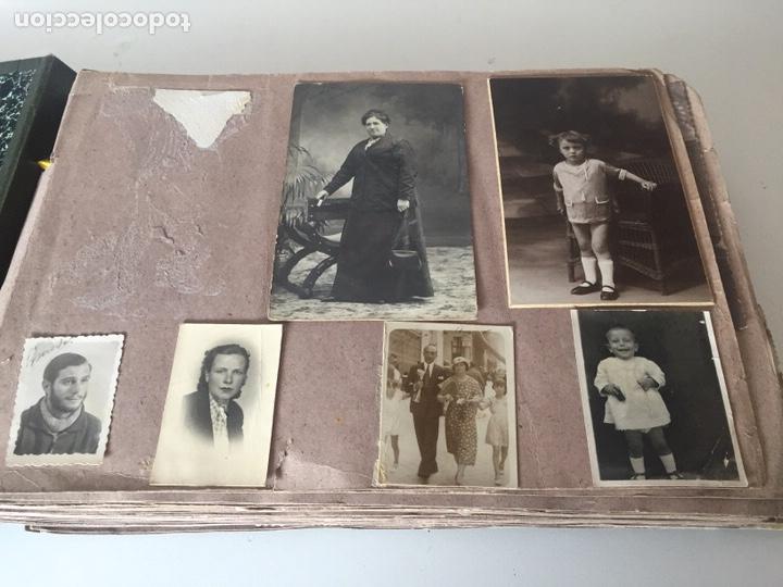 Fotografía antigua: Álbum fotográfico antiguo familiar y más - Foto 2 - 221512361
