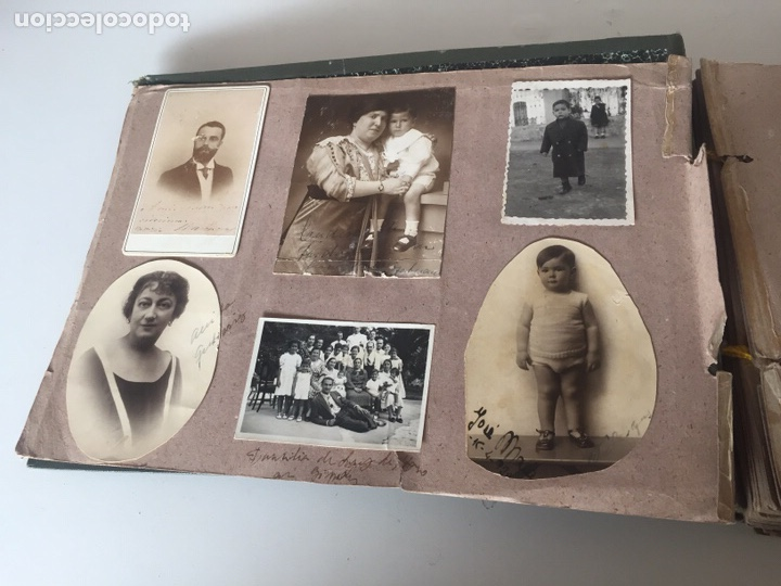 Fotografía antigua: Álbum fotográfico antiguo familiar y más - Foto 3 - 221512361