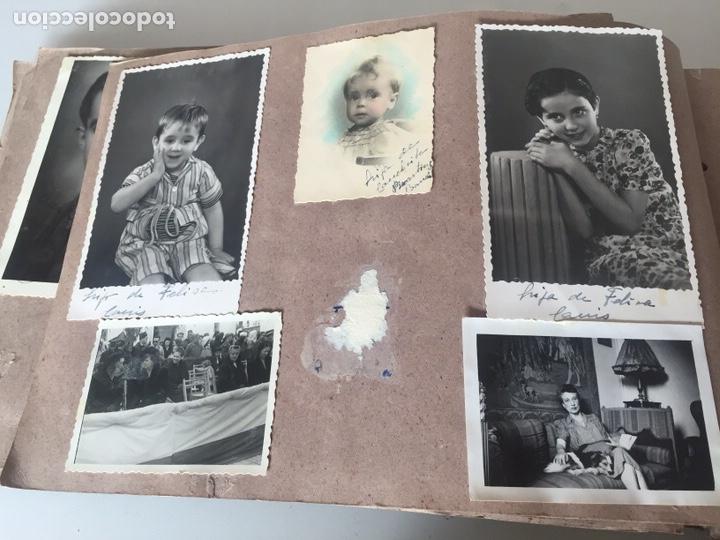 Fotografía antigua: Álbum fotográfico antiguo familiar y más - Foto 9 - 221512361