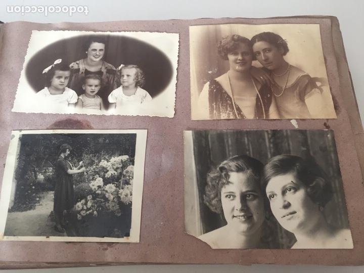 Fotografía antigua: Álbum fotográfico antiguo familiar y más - Foto 15 - 221512361