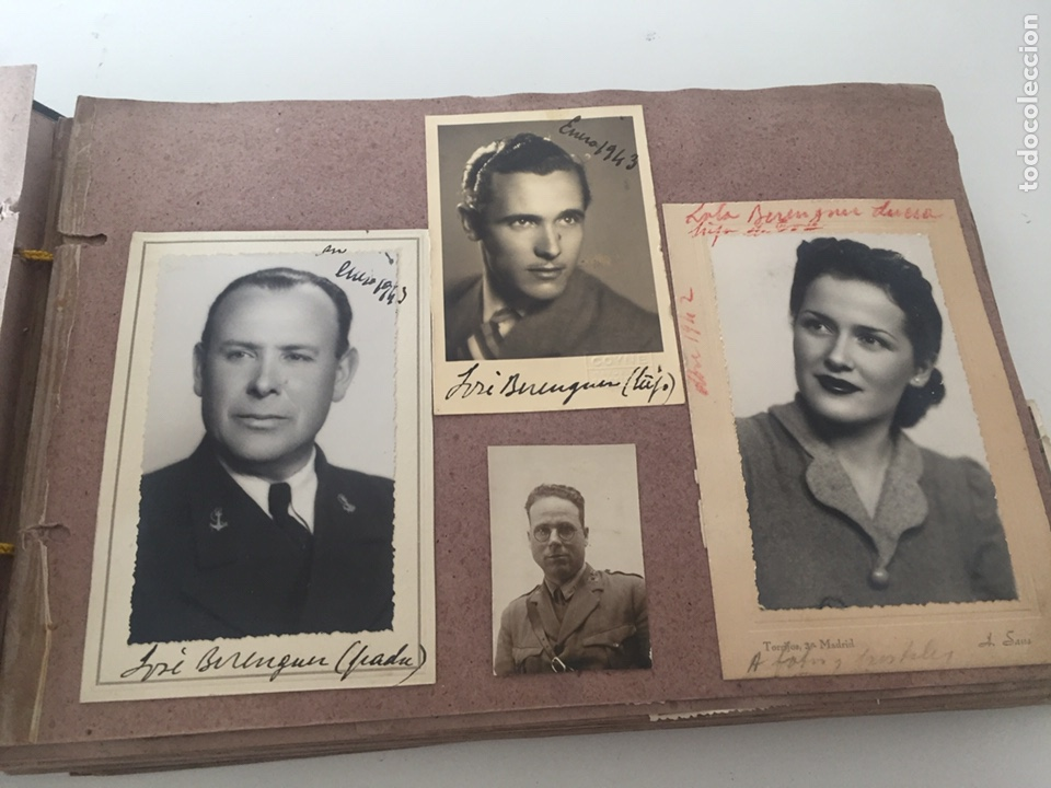 Fotografía antigua: Álbum fotográfico antiguo familiar y más - Foto 19 - 221512361