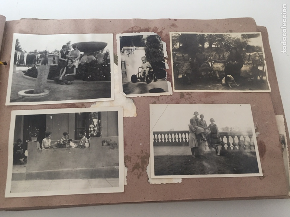 Fotografía antigua: Álbum fotográfico antiguo familiar y más - Foto 25 - 221512361