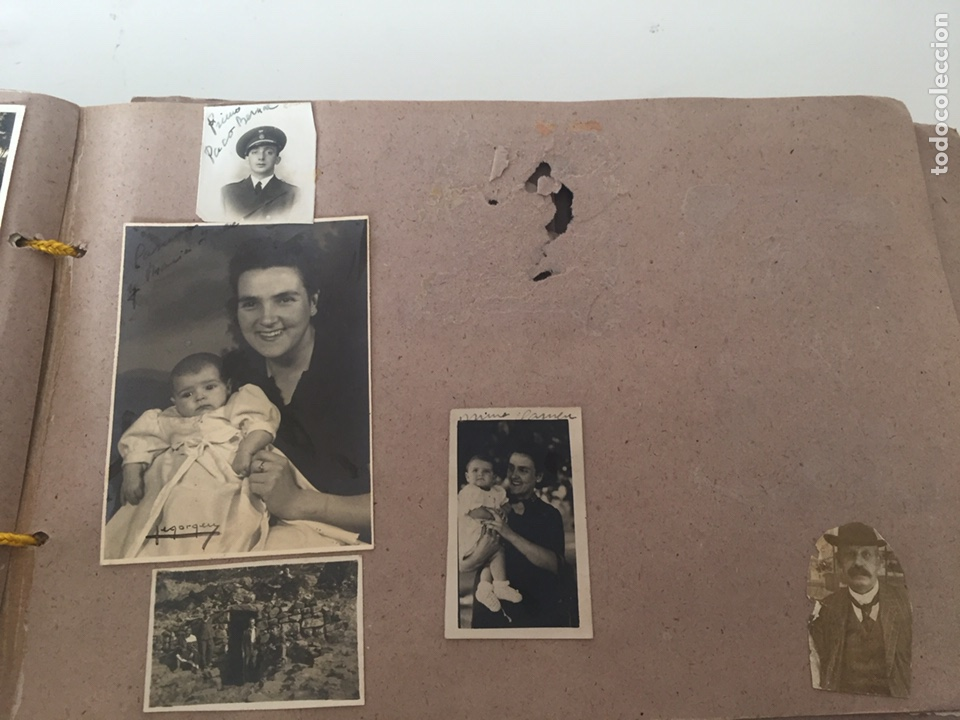Fotografía antigua: Álbum fotográfico antiguo familiar y más - Foto 30 - 221512361