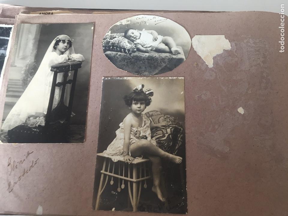 Fotografía antigua: Álbum fotográfico antiguo familiar y más - Foto 33 - 221512361