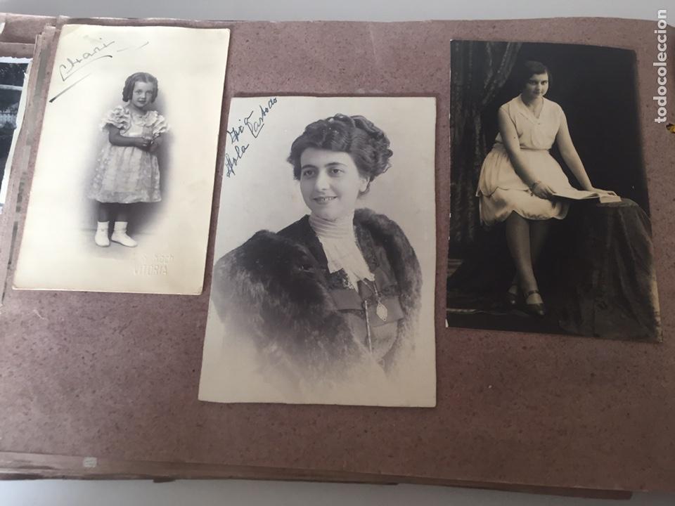 Fotografía antigua: Álbum fotográfico antiguo familiar y más - Foto 34 - 221512361