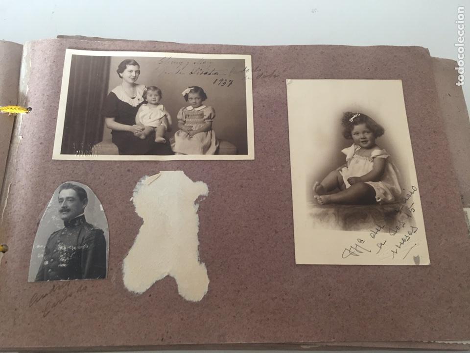 Fotografía antigua: Álbum fotográfico antiguo familiar y más - Foto 35 - 221512361