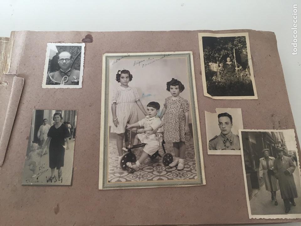 Fotografía antigua: Álbum fotográfico antiguo familiar y más - Foto 36 - 221512361
