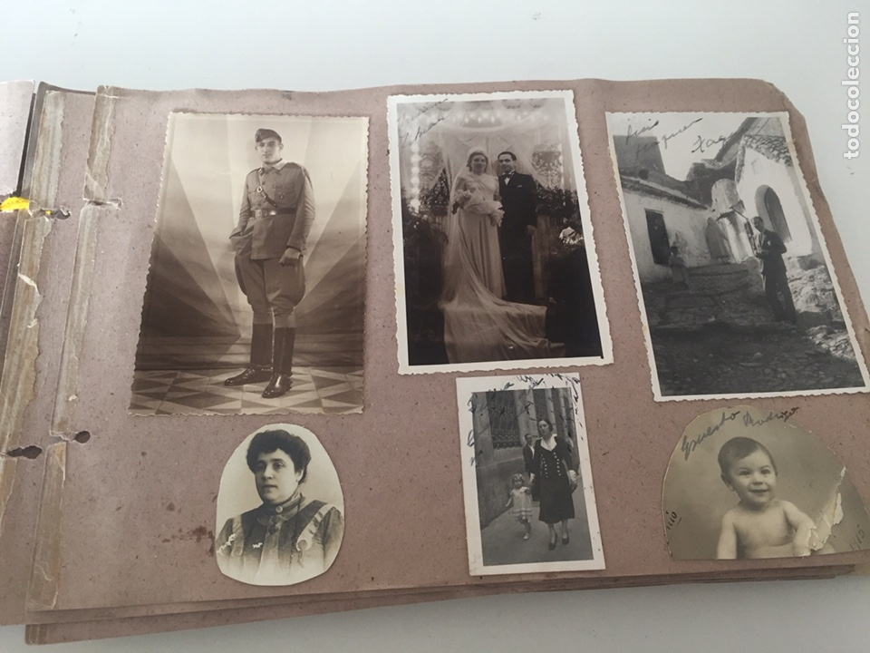Fotografía antigua: Álbum fotográfico antiguo familiar y más - Foto 38 - 221512361