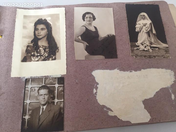 Fotografía antigua: Álbum fotográfico antiguo familiar y más - Foto 44 - 221512361