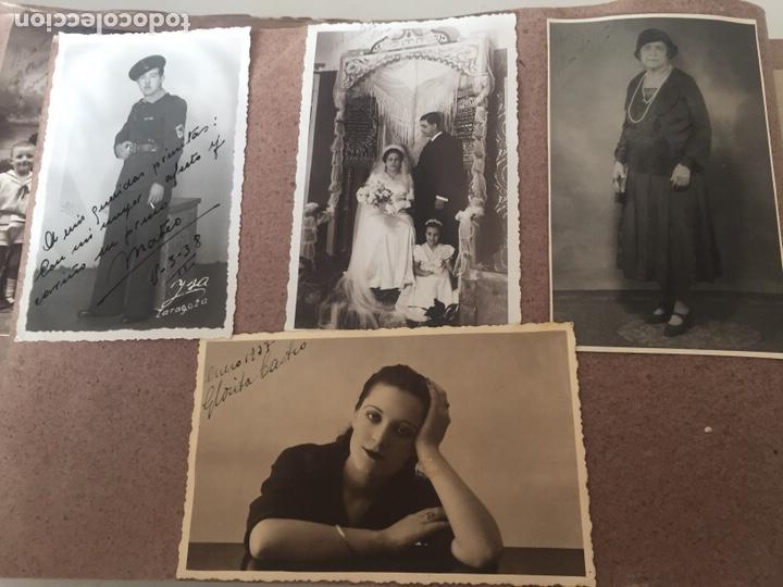 Fotografía antigua: Álbum fotográfico antiguo familiar y más - Foto 45 - 221512361