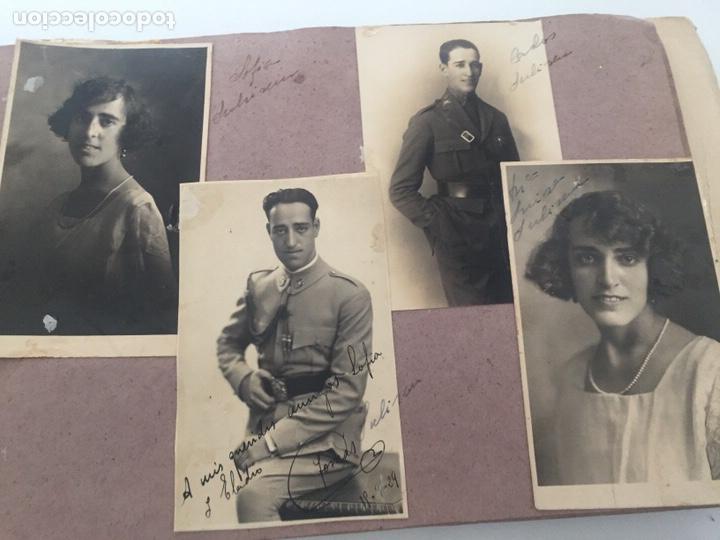 Fotografía antigua: Álbum fotográfico antiguo familiar y más - Foto 48 - 221512361