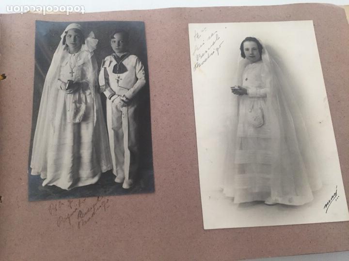 Fotografía antigua: Álbum fotográfico antiguo familiar y más - Foto 49 - 221512361