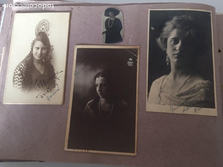 Fotografía antigua: Álbum fotográfico antiguo familiar y más - Foto 51 - 221512361