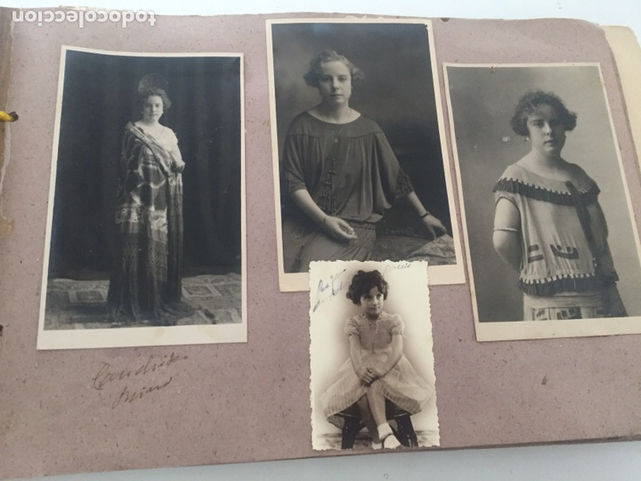 Fotografía antigua: Álbum fotográfico antiguo familiar y más - Foto 52 - 221512361