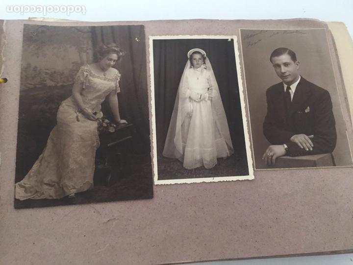Fotografía antigua: Álbum fotográfico antiguo familiar y más - Foto 54 - 221512361