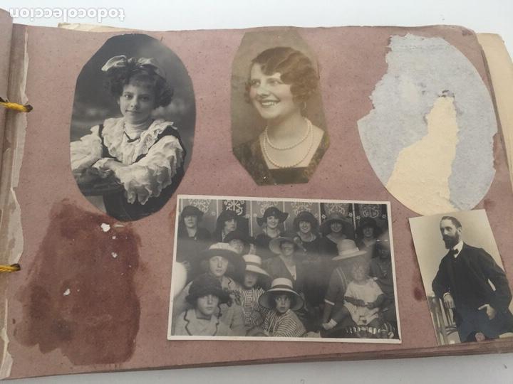Fotografía antigua: Álbum fotográfico antiguo familiar y más - Foto 55 - 221512361