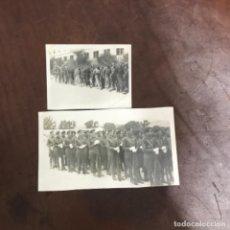 Fotografía antigua: FOTOGRAFÍA GUERRA CIVIL EJERCICIOS MANIOBRA RIFFIEN 3 CÍA ALFÉREZ 1938. Lote 221665033