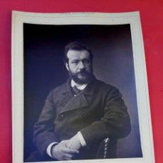 Fotografía antigua: PINTOR - FÉLIX BRACQUEMOND - 1870 - GALERIE CONTEMPORAINE. Lote 222040258