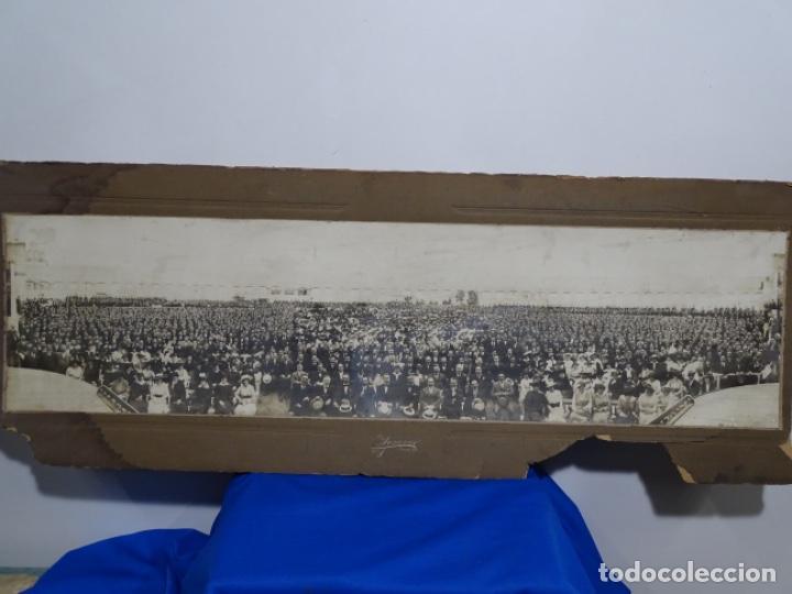 GRAN FOTOGRAFÍA DE UN ACTO EN BUENOS AIRES.AYMASSO,CALLE FLORIDA 126.PRINCIPIO SIGLO XX. (Fotografía Antigua - Albúmina)