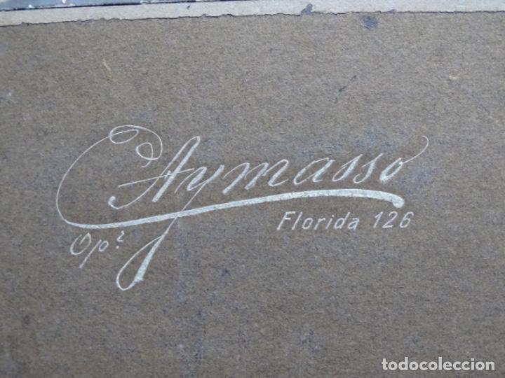 Fotografía antigua: GRAN FOTOGRAFÍA DE UN ACTO EN BUENOS AIRES.AYMASSO,CALLE FLORIDA 126.PRINCIPIO SIGLO XX. - Foto 19 - 222396271