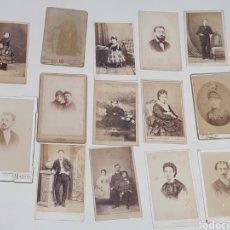Fotografía antigua: COLECCION 14 FOTOGRAFIAS ALBIMINA. FOTOGRAFOS MADRID, SIGLO XIX.. Lote 222651851