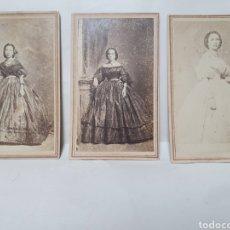 Fotografía antigua: 3 FOTOGRAFIAS ALBUMINA. NARCISO MESTRES. LA HABANA. FOTOS SIGLO XIX.. Lote 222662590