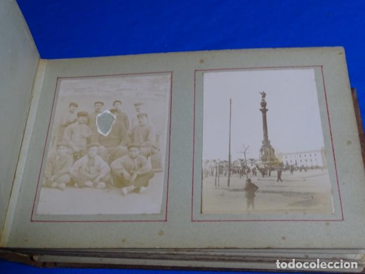 Fotografía antigua: ALBUM CON 89 FOTOS(11X8.5) DE BARCELONA,TARRAGONA.MILITARES,PARTICULARES,ETC.PRINCIPIO SIGLO XX. - Foto 11 - 223036610