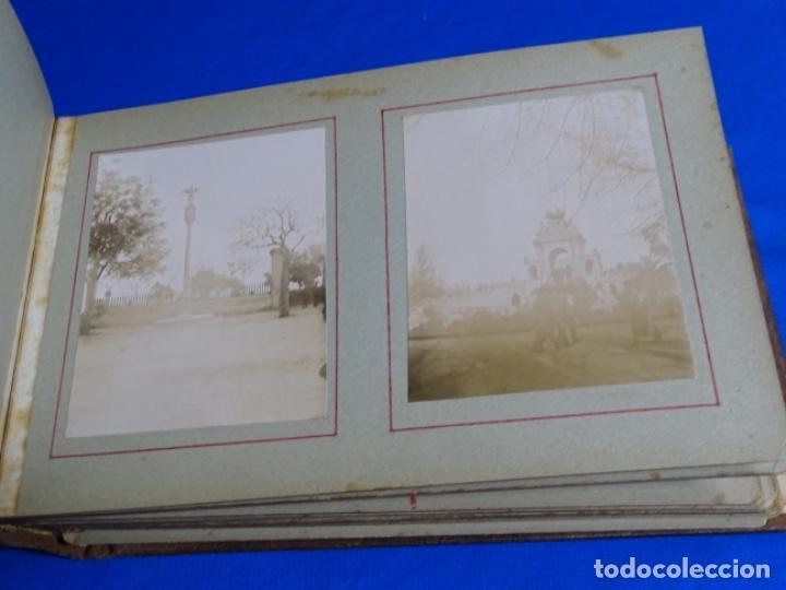 Fotografía antigua: ALBUM CON 89 FOTOS(11X8.5) DE BARCELONA,TARRAGONA.MILITARES,PARTICULARES,ETC.PRINCIPIO SIGLO XX. - Foto 14 - 223036610