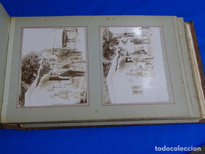 Fotografía antigua: ALBUM CON 89 FOTOS(11X8.5) DE BARCELONA,TARRAGONA.MILITARES,PARTICULARES,ETC.PRINCIPIO SIGLO XX. - Foto 21 - 223036610