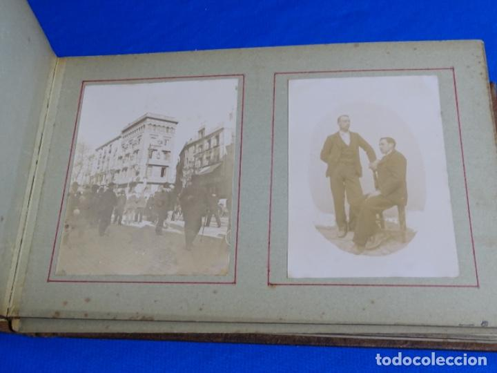 Fotografía antigua: ALBUM CON 89 FOTOS(11X8.5) DE BARCELONA,TARRAGONA.MILITARES,PARTICULARES,ETC.PRINCIPIO SIGLO XX. - Foto 33 - 223036610