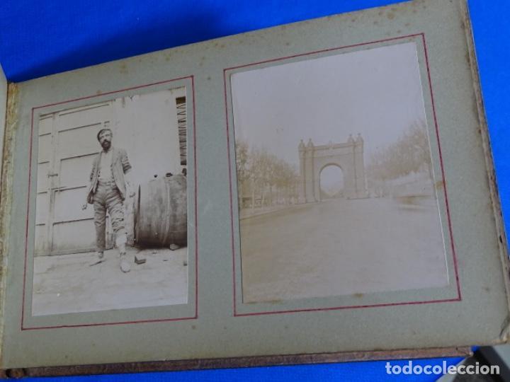 Fotografía antigua: ALBUM CON 89 FOTOS(11X8.5) DE BARCELONA,TARRAGONA.MILITARES,PARTICULARES,ETC.PRINCIPIO SIGLO XX. - Foto 39 - 223036610