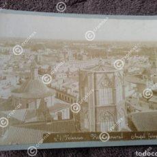 Fotografía antigua: ANTIGUA FOTOGRAFÍA ALBÚMINA SOBRE 1890 PANORÁMICA DE VALENCIA. Lote 225134251