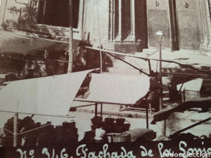 Fotografía antigua: Albúmina original Lonja de Valencia. Sobre el año 1880. A. Esplugas N.346 - Foto 5 - 225284965
