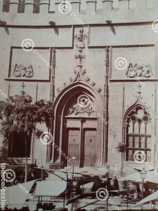 Fotografía antigua: Albúmina original Lonja de Valencia. Sobre el año 1880. A. Esplugas N.346 - Foto 3 - 225284965