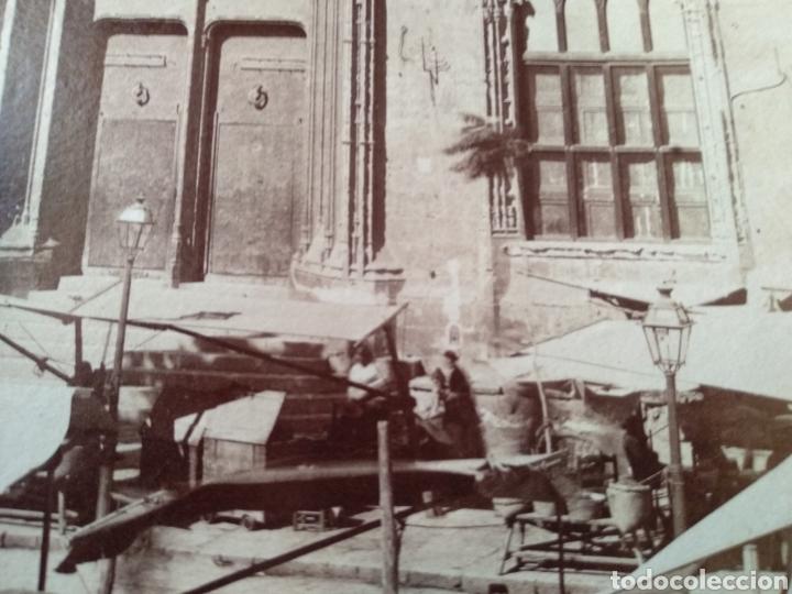 Fotografía antigua: Albúmina original Lonja de Valencia. Sobre el año 1880. A. Esplugas N.346 - Foto 4 - 225284965