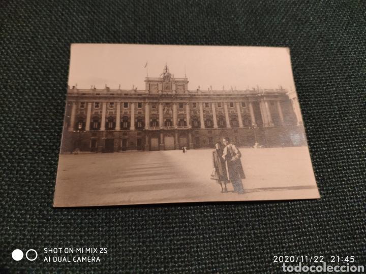 FOTO PALACIO DE ORIENTE, MADRID (MARZO 1956) (Fotografía Antigua - Albúmina)